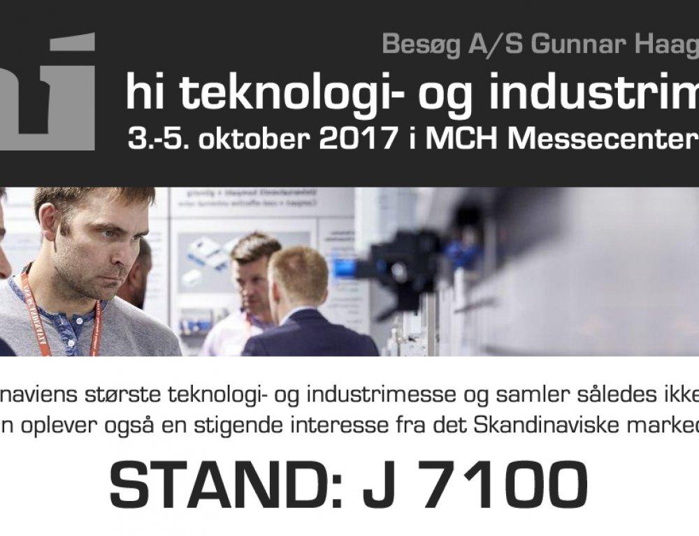 Hi teknologi- og industrimesse i Herning 3.-5 oktober 2017