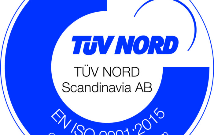 TüV Nord ISO 9001:2015 approval