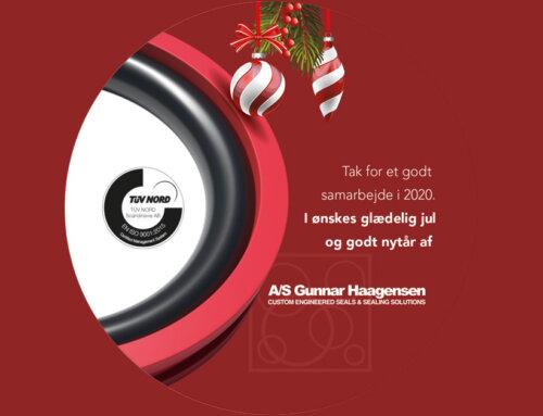 Julehilsen fra A/S Gunnar Haagensen