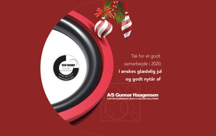 A/S Gunnar Haagensen - Julehilsen 2020